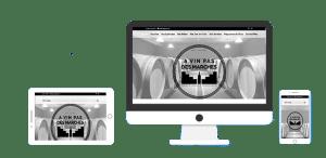 creation site internet cave a vin saint etienne loire
