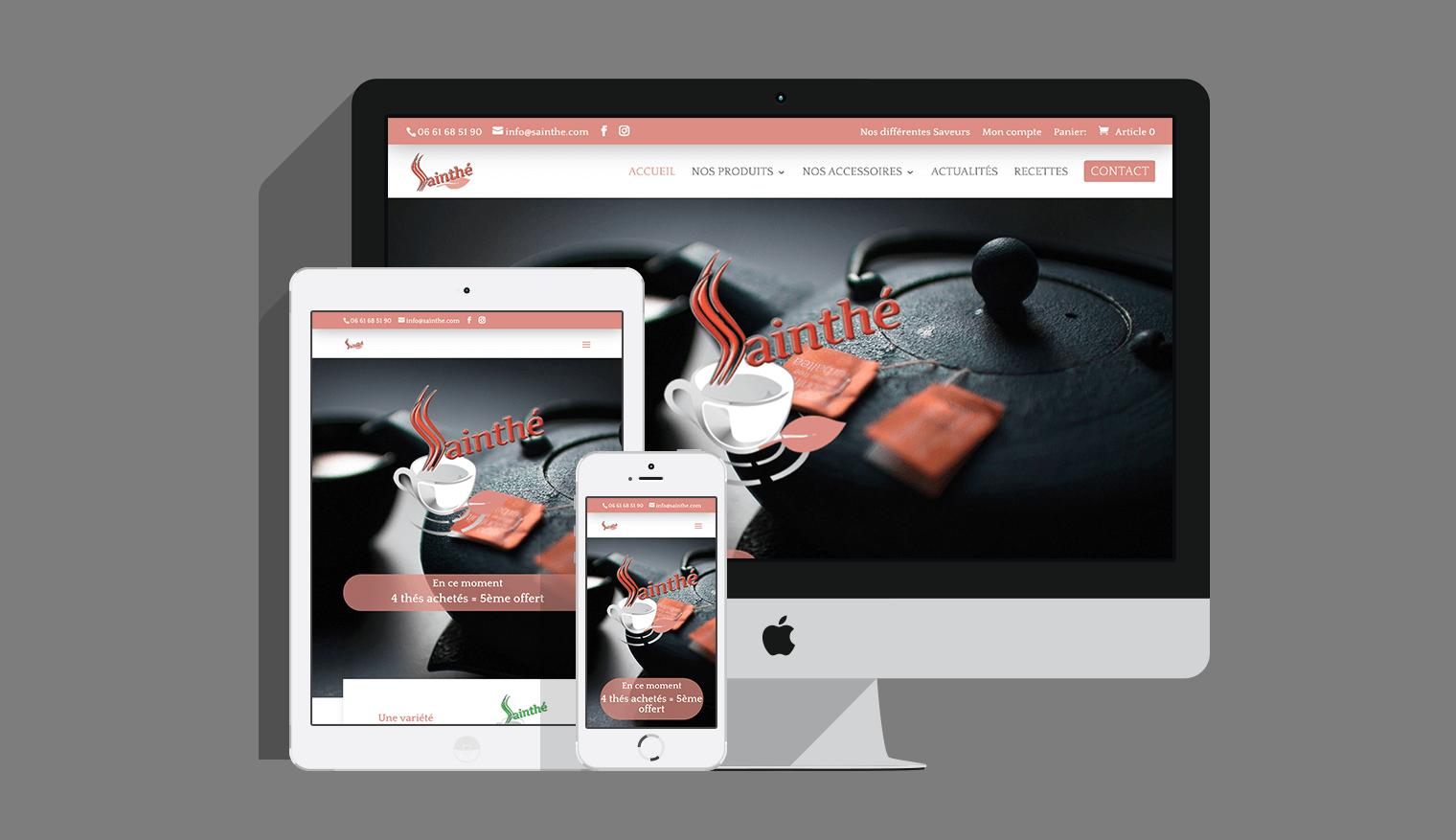Site e-commerce saint Etienne 42