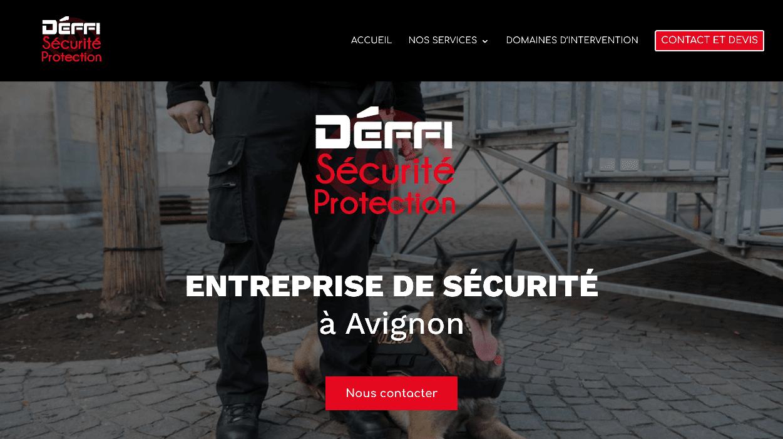 Déffi Sécurité Protection : Refonte de site web et identité