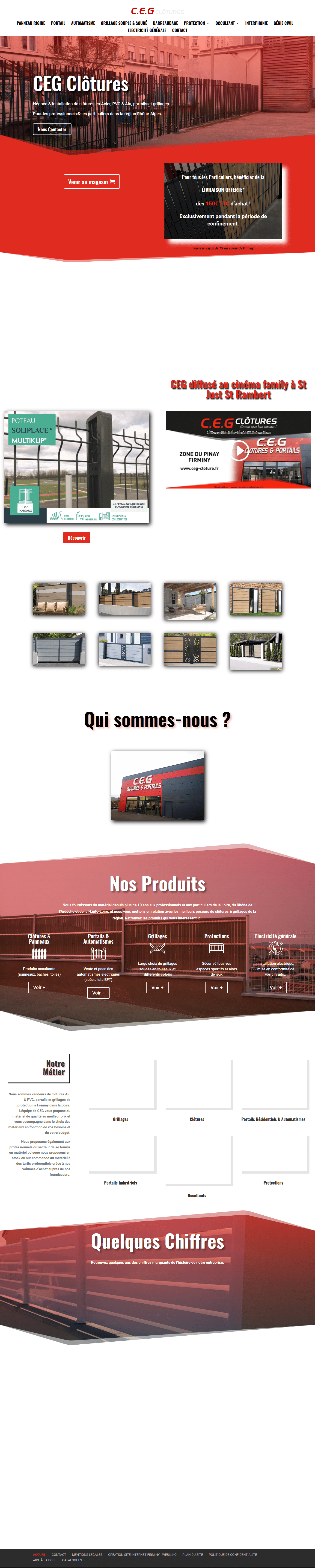 CEG Clôtures Firminy (Loire) Fournisseur grillages & clôtures Rhône A_ - www.ceg-clotures.fr-min