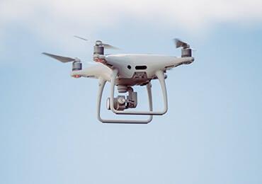 Webiliko: Prise de vue par drones